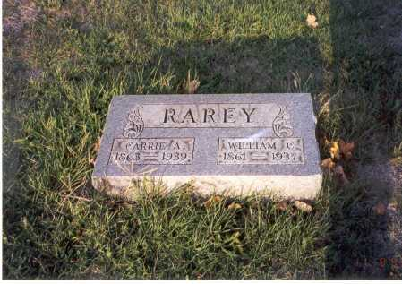 COPELAND RAREY, CARRIE A. - Franklin County, Ohio | CARRIE A. COPELAND RAREY - Ohio Gravestone Photos