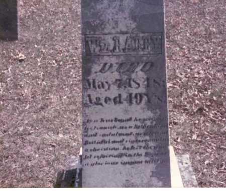 RAREY, WM - Franklin County, Ohio   WM RAREY - Ohio Gravestone Photos