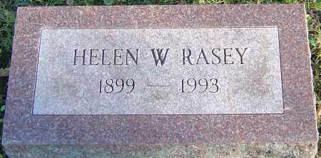 WILCOX RASEY, HELEN - Franklin County, Ohio | HELEN WILCOX RASEY - Ohio Gravestone Photos