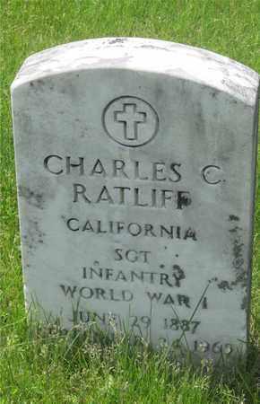 RATLIFF, CHARLES C. - Franklin County, Ohio | CHARLES C. RATLIFF - Ohio Gravestone Photos