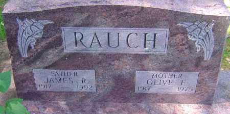 RAUCH, JAMES R - Franklin County, Ohio | JAMES R RAUCH - Ohio Gravestone Photos