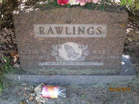 RAWLINGS, CLYDE WINSLOW - Franklin County, Ohio | CLYDE WINSLOW RAWLINGS - Ohio Gravestone Photos