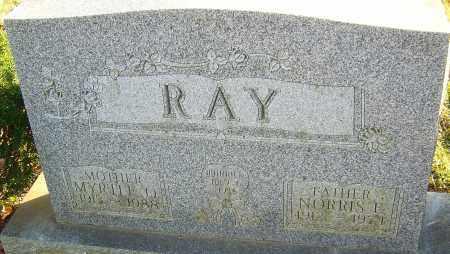 RAY, MYRTLE - Franklin County, Ohio | MYRTLE RAY - Ohio Gravestone Photos