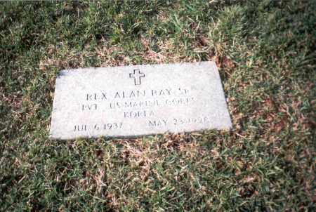 RAY, SR, REX ALAN - Franklin County, Ohio | REX ALAN RAY, SR - Ohio Gravestone Photos