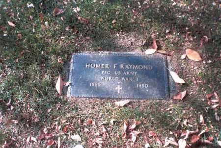 RAYMOND, HOMER F. - Franklin County, Ohio | HOMER F. RAYMOND - Ohio Gravestone Photos