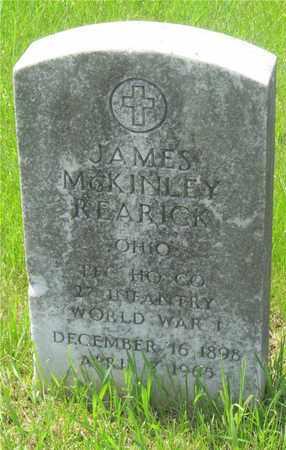 REARICK, JAMES MCKINLEY - Franklin County, Ohio | JAMES MCKINLEY REARICK - Ohio Gravestone Photos