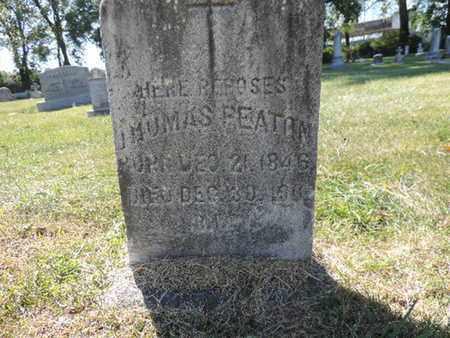 REATON, THOMAS - Franklin County, Ohio | THOMAS REATON - Ohio Gravestone Photos