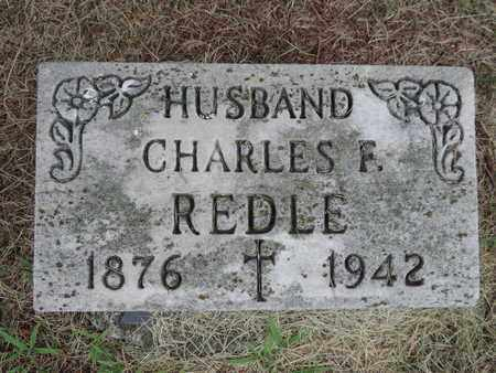 REDLE, CHARLES F. - Franklin County, Ohio | CHARLES F. REDLE - Ohio Gravestone Photos