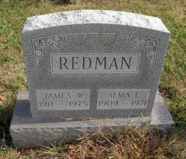 REDMAN, JAMES W. - Franklin County, Ohio | JAMES W. REDMAN - Ohio Gravestone Photos