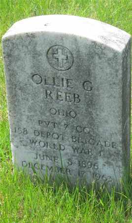 REEB, OLLIE G. - Franklin County, Ohio | OLLIE G. REEB - Ohio Gravestone Photos