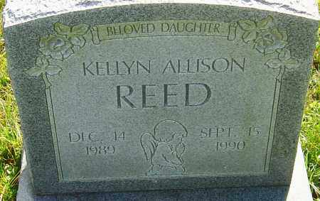 REED, KELLYN - Franklin County, Ohio | KELLYN REED - Ohio Gravestone Photos