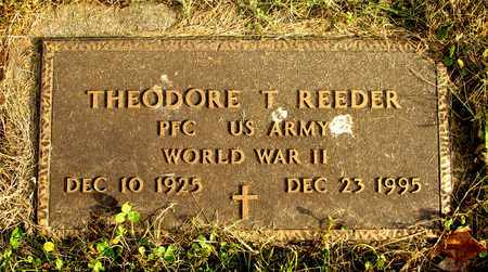 REEDER, THEODORE T. - Franklin County, Ohio   THEODORE T. REEDER - Ohio Gravestone Photos