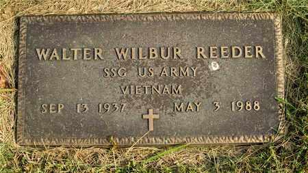 REEDER, WALTER WILBUR - Franklin County, Ohio | WALTER WILBUR REEDER - Ohio Gravestone Photos