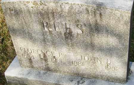 REES, FLORENCE P - Franklin County, Ohio | FLORENCE P REES - Ohio Gravestone Photos