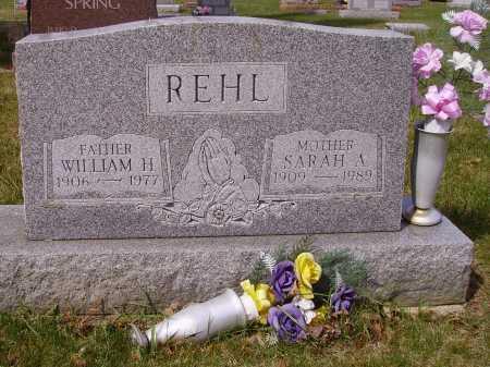 REHL, WILLIAM H. - Franklin County, Ohio | WILLIAM H. REHL - Ohio Gravestone Photos