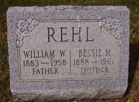 REHL, WILLIAM W. - Franklin County, Ohio | WILLIAM W. REHL - Ohio Gravestone Photos