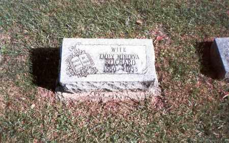 SHAFFER REICHARD, EMILY MINERVA - Franklin County, Ohio | EMILY MINERVA SHAFFER REICHARD - Ohio Gravestone Photos