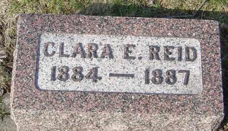 REID, CLARA E - Franklin County, Ohio | CLARA E REID - Ohio Gravestone Photos