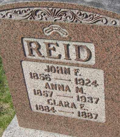 REID, JOHN F - Franklin County, Ohio | JOHN F REID - Ohio Gravestone Photos