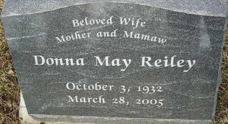 REILEY, DONNA MAY - Franklin County, Ohio | DONNA MAY REILEY - Ohio Gravestone Photos