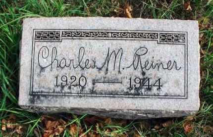 REINER, CHARLES M. - Franklin County, Ohio   CHARLES M. REINER - Ohio Gravestone Photos