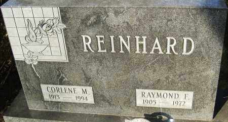REINHARD, RAYMOND F - Franklin County, Ohio | RAYMOND F REINHARD - Ohio Gravestone Photos