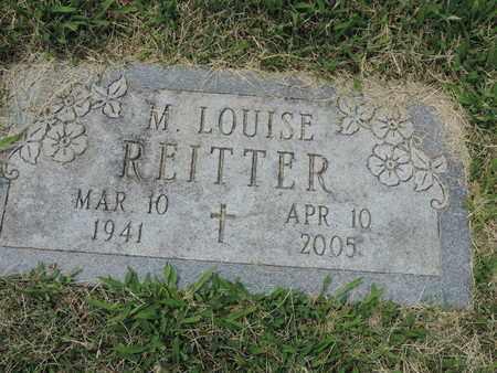 REITTER, M. LOUISE - Franklin County, Ohio | M. LOUISE REITTER - Ohio Gravestone Photos