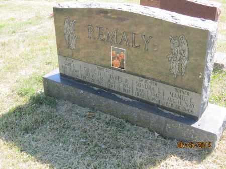 OVERTURF REMALY, MAMIE ELIZABETH - Franklin County, Ohio | MAMIE ELIZABETH OVERTURF REMALY - Ohio Gravestone Photos