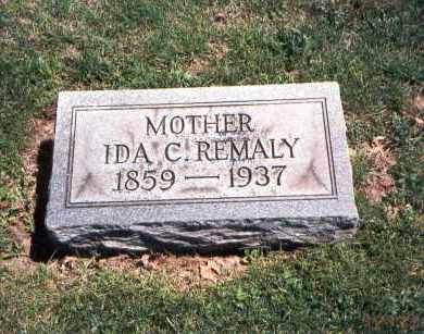 REMALY, IDA CATHERINE - Franklin County, Ohio | IDA CATHERINE REMALY - Ohio Gravestone Photos
