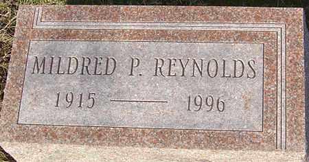 REYNOLDS, MILDRED P - Franklin County, Ohio   MILDRED P REYNOLDS - Ohio Gravestone Photos