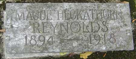 HECKATHORN REYNOLDS, MAUDE MYRTLE - Franklin County, Ohio | MAUDE MYRTLE HECKATHORN REYNOLDS - Ohio Gravestone Photos