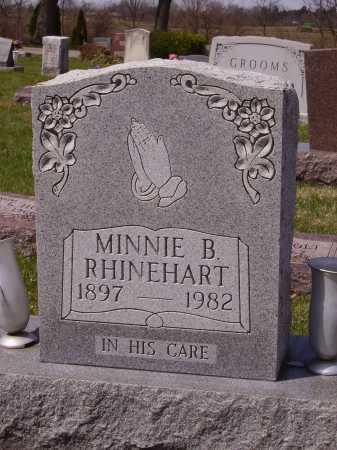 RHINEHART, MINNIE B. - Franklin County, Ohio | MINNIE B. RHINEHART - Ohio Gravestone Photos