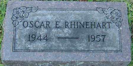 RHINEHART, OSCAR E - Franklin County, Ohio   OSCAR E RHINEHART - Ohio Gravestone Photos