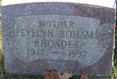RHOADES, EVELYN - Franklin County, Ohio | EVELYN RHOADES - Ohio Gravestone Photos