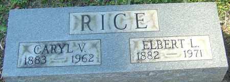 RICE, CARYL V - Franklin County, Ohio | CARYL V RICE - Ohio Gravestone Photos