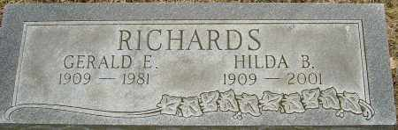 RICHARDS, HILDA B - Franklin County, Ohio | HILDA B RICHARDS - Ohio Gravestone Photos