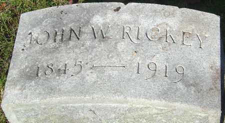 RICKEY, JOHN WALLACE - Franklin County, Ohio   JOHN WALLACE RICKEY - Ohio Gravestone Photos