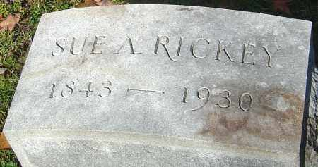 RICKEY, SUE A - Franklin County, Ohio | SUE A RICKEY - Ohio Gravestone Photos