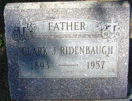 RIDENBAUGH, CLARK J - Franklin County, Ohio   CLARK J RIDENBAUGH - Ohio Gravestone Photos