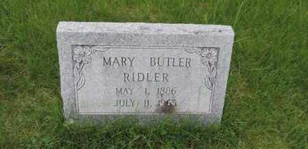 RIDLER, MARY - Franklin County, Ohio | MARY RIDLER - Ohio Gravestone Photos