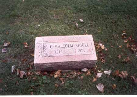 RIGGLE, C. MALCOLM - Franklin County, Ohio   C. MALCOLM RIGGLE - Ohio Gravestone Photos