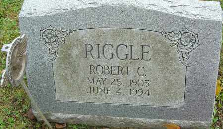 RIGGLE, ROBERT C - Franklin County, Ohio | ROBERT C RIGGLE - Ohio Gravestone Photos
