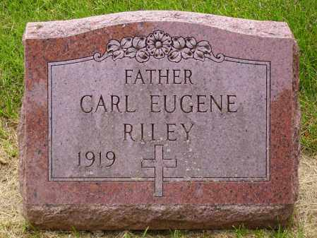 RILEY, CARL EUGENE - Franklin County, Ohio | CARL EUGENE RILEY - Ohio Gravestone Photos
