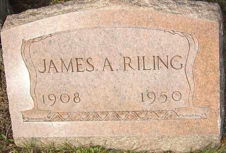 RILING, JAMES - Franklin County, Ohio   JAMES RILING - Ohio Gravestone Photos