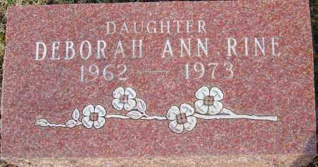 RINE, DEBORAH ANN - Franklin County, Ohio | DEBORAH ANN RINE - Ohio Gravestone Photos