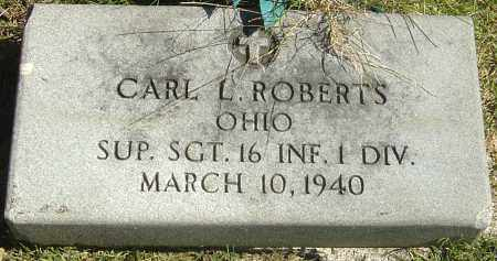 ROBERTS, CARL L - Franklin County, Ohio | CARL L ROBERTS - Ohio Gravestone Photos