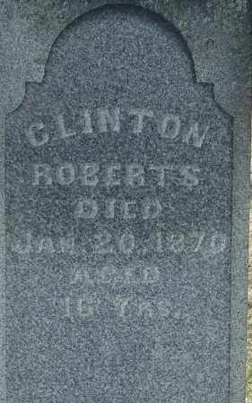 ROBERTS, CLINTON - Franklin County, Ohio | CLINTON ROBERTS - Ohio Gravestone Photos