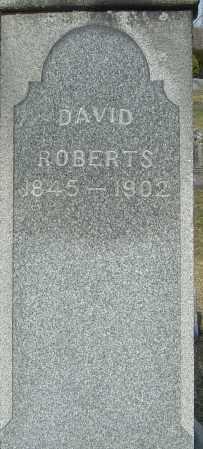 ROBERTS, DAVID - Franklin County, Ohio | DAVID ROBERTS - Ohio Gravestone Photos