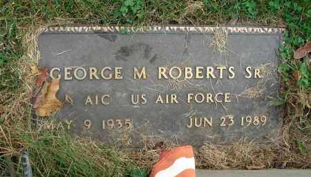 ROBERTS, GEORGE M. - Franklin County, Ohio   GEORGE M. ROBERTS - Ohio Gravestone Photos