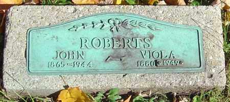 ROBERTS, JOHN - Franklin County, Ohio | JOHN ROBERTS - Ohio Gravestone Photos